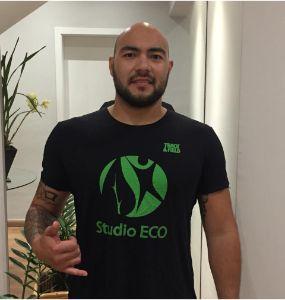 Márcio Higuchi - Personal Trainer na Studio Eco
